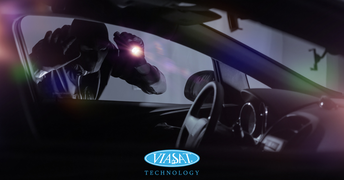 International recovery of a stolen vehicle by Viasat Group